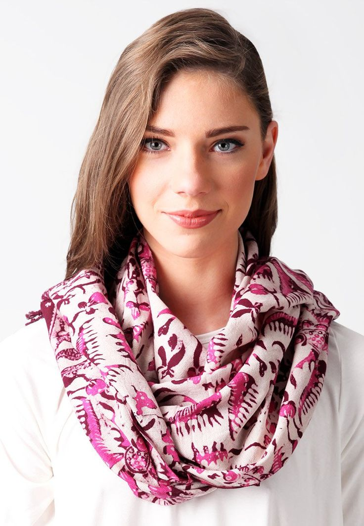 Selendang batik scarf designed by Amarta Nawa made of cotton. http://www.zocko.com/z/JIi6y