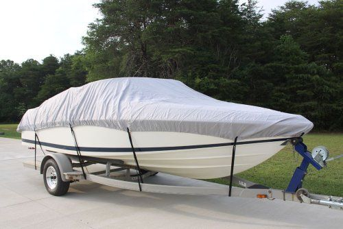 """NEW VORTEX HEAVY DUTY *GREY/GRAY* CUDDY CABIN COVER 25'7"""" TO 26'6"""" LONG, 102"""" BEAM (FAST SHIPPING - 1 TO 4 BUSINESS DAY DELIVERY) *** Learn more by visiting the image link."""