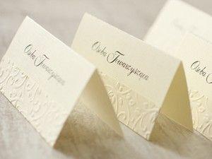 Winietki na stół - Amelia wedding