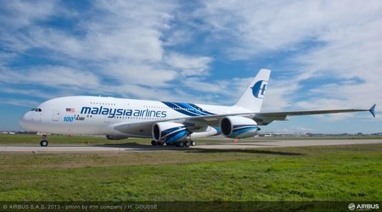 100th #Airbus #A380