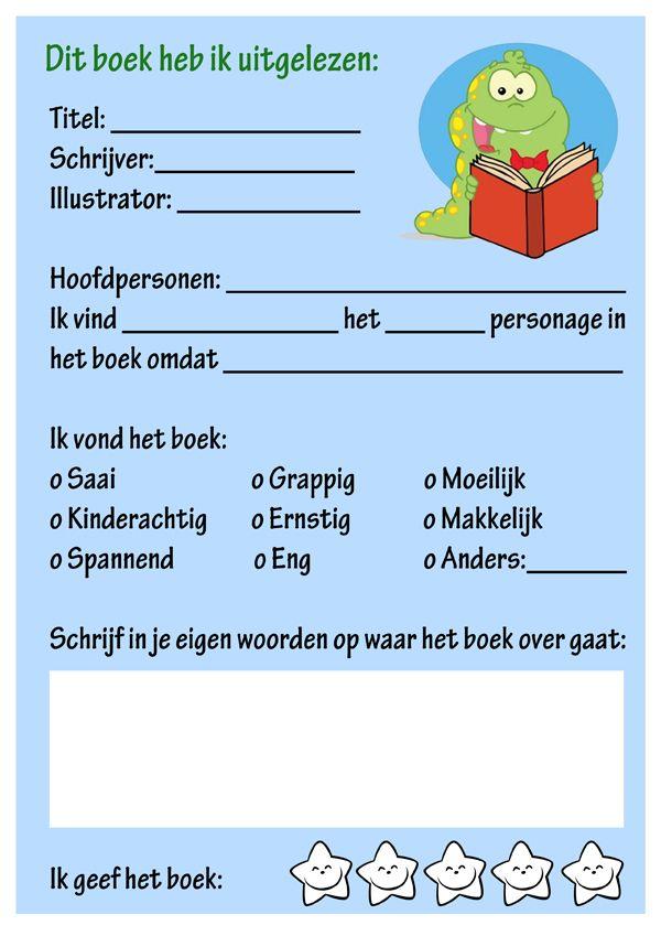 Dit boek heb ik gelezen - Boekverslag - Meestertim.nl