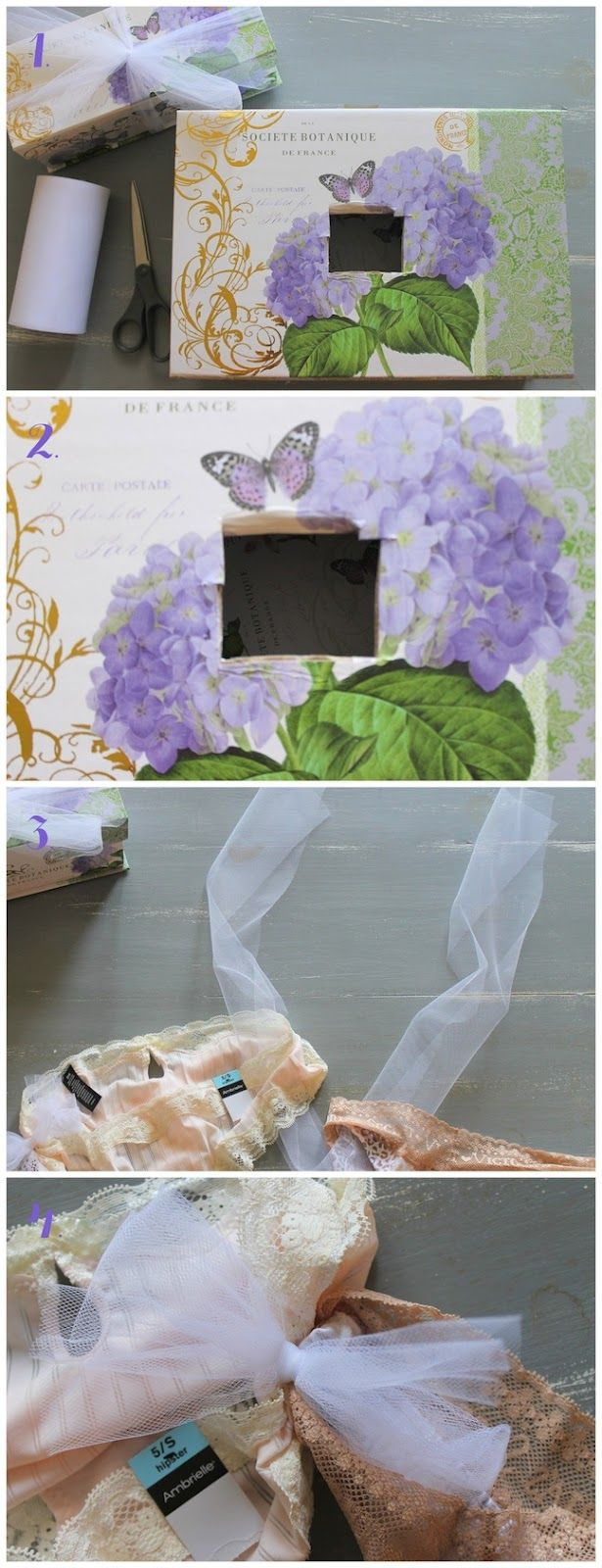 Linen, Lace, & Love: Lingerie Shower Gift Wrapping