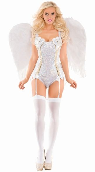 Sparkle Sweet Angel Costume