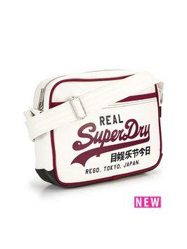 Superdry mini alumni bag
