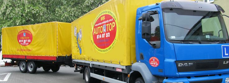 Prawo jazdy na samochód ciężarowy