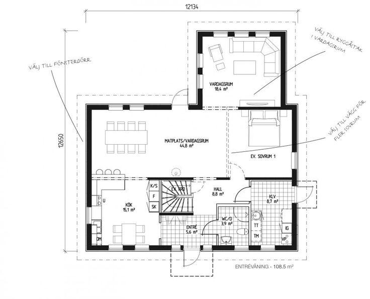 LB Optimal 172 | Arkitektritade & moderna hus när du ska bygga eget hus | LB-Hus