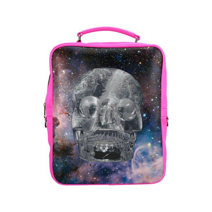 Crystall Skull Square Backpack. FREE Shipping. #artsadd #lbackpacks #skulls
