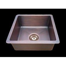 Patra Copper Sink Single Bowl