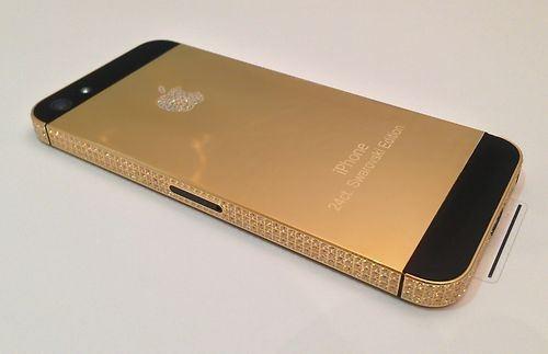 diamond iphone 5 by bossluxury