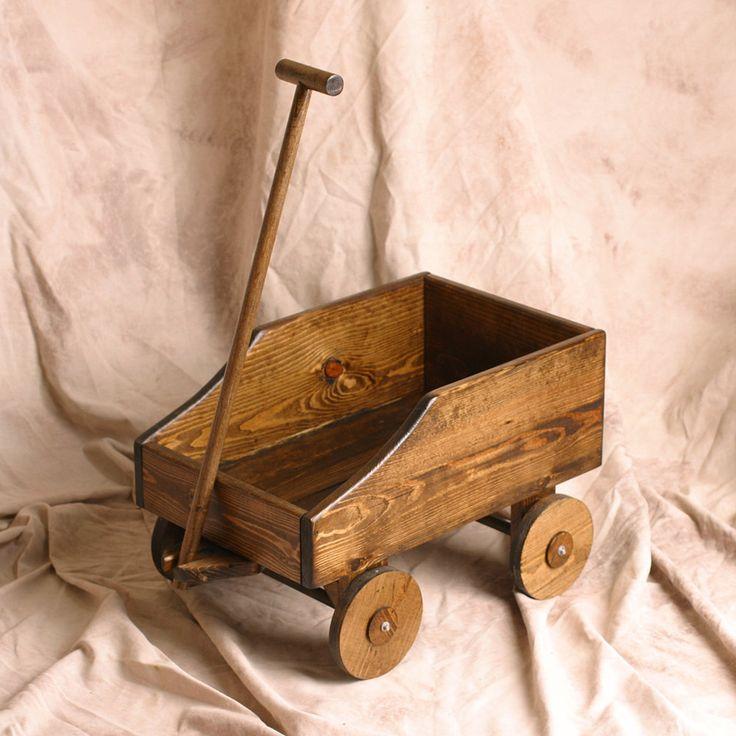 Wedding wagon ring bearer flower girl child or baby by KMGstore, $150.00