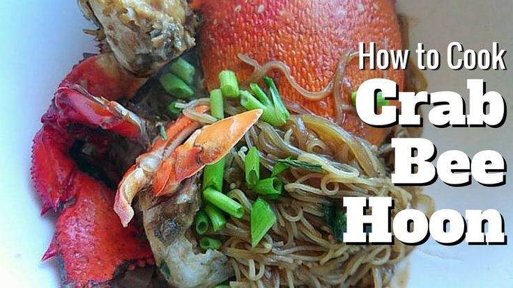 How to Cook Crab Bee Hoon (LIVE)