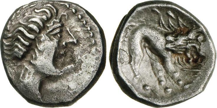 NumisBids: Numismatica Varesi s.a.s. Auction 65, Lot 29 : GALLIA CISALPINA - (III-II Sec. a.C.) Dracma al tipo di quella...
