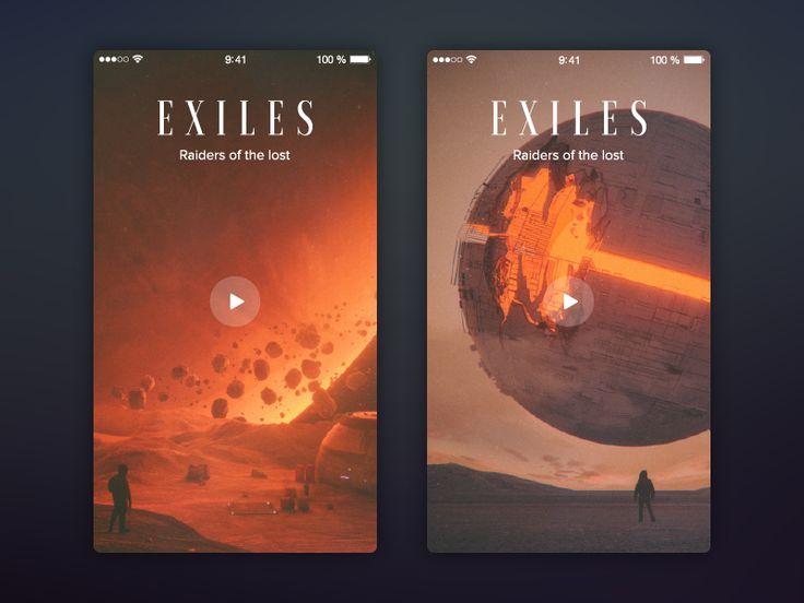 Exiles by Nikita Kokarev
