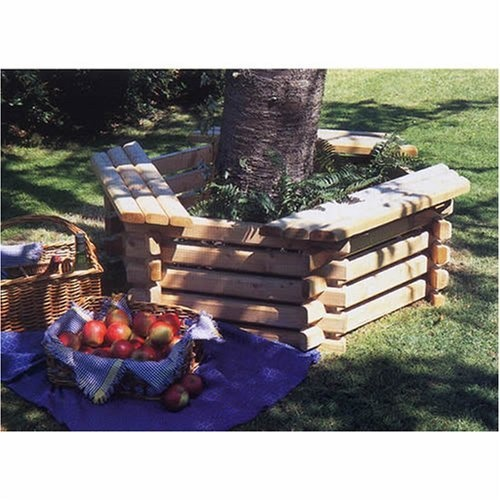 Tree Bench For The Front Yard Birch Tree!
