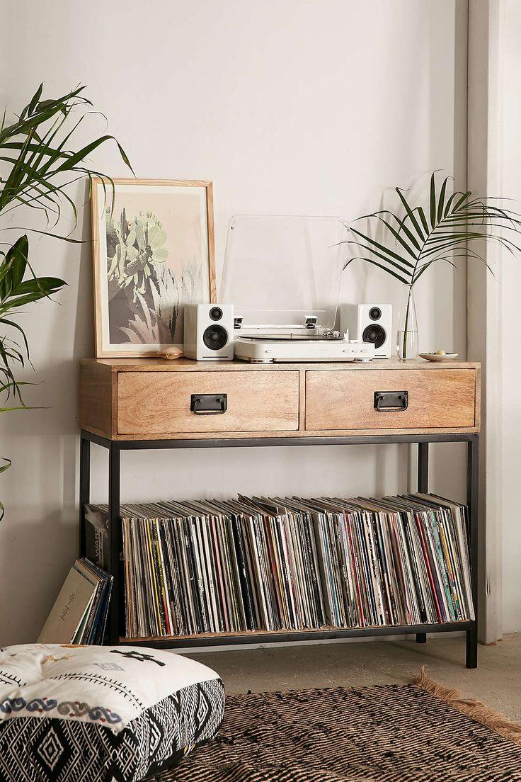 Casper Industrial Wooden Console