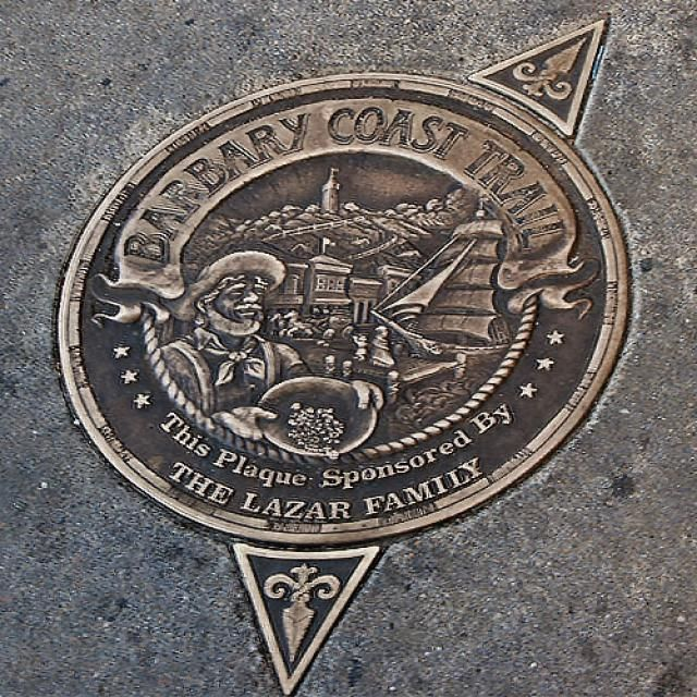 Read about the Barbary Coast Trail in San Francisco's North Beach