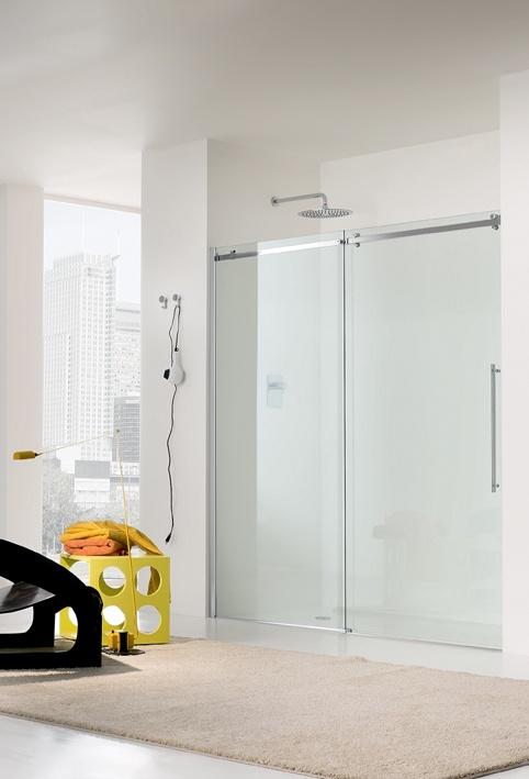 Mampara de ducha de puerta deslizante