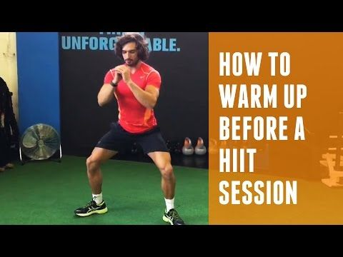 How to warm-up before a HIIT session | The Body Coach - YouTube