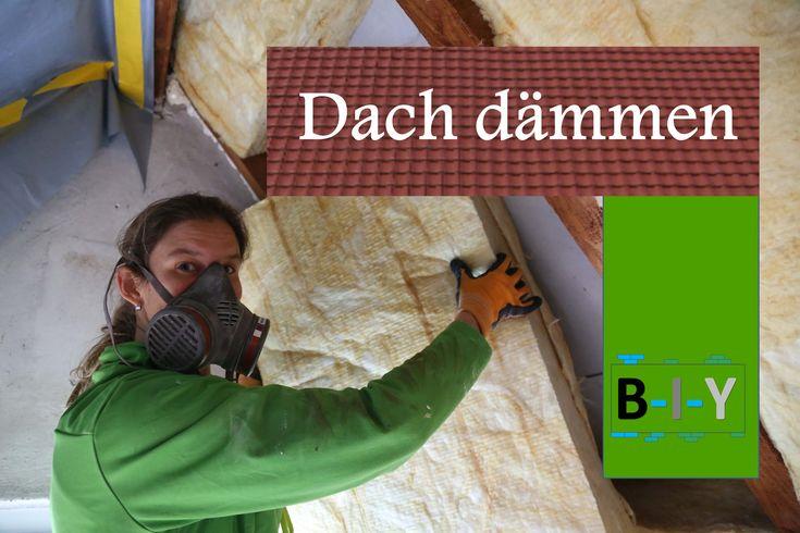 Das #Dämmen des #Daches ist zwar keine schöne, aber eine sehr wichtige Arbeit. Zum einen hält es die Hitze im Sommer draußen und im Gegenzeug gibt sie im Winter weniger Wärme nach außen ab. Dadurch kann auch einiges an #Heizkosten eingespart werden. In dieser Anleitung wird gezeigt, wir ihr das Dach mit Glaswolle dämmen könnt und worauf ihr dabei achten müsst. Es ist gar nicht so schwer, wie ich immer dachte :)