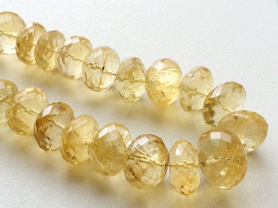 Citrine Sparkling Golden Orange Citrine Micro by gemsforjewels