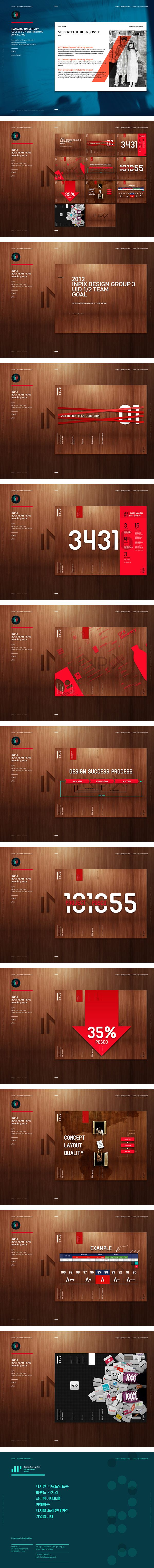 Design Powerpoint Introduction 2013! by young sun hong, via Behance