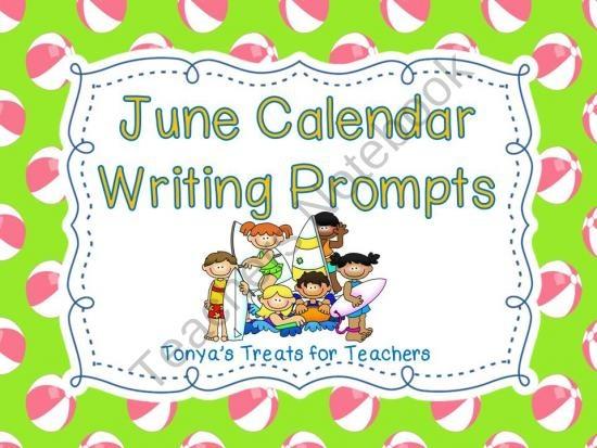 June Calendar Writing Prompts : Best ar images on pinterest teaching reading