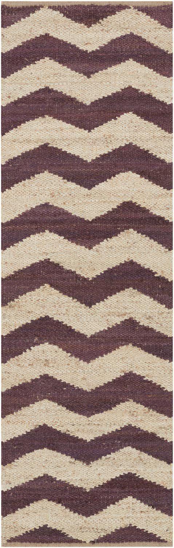 Portico AWAR-5013 Purple/Beige Zig Zag Chevron Rug