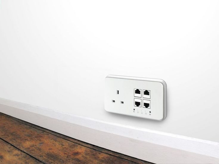 Power Ethernet Launches PE Socket, Integrates Power and Network To The Wall Socket | techPowerUp