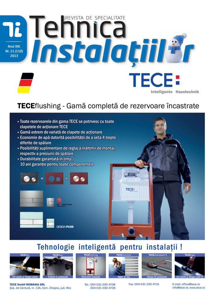 Revista Tehnica Instalatiilor nr. 11_118_2013
