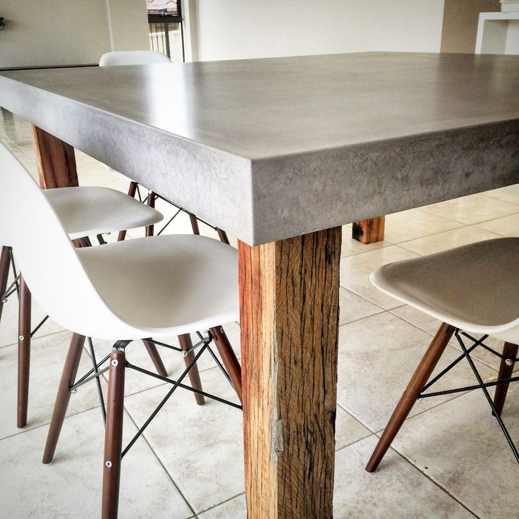 Captivating Polished Concrete Table By Mitchell Bink Concrete Design.  Www.mbconcretedesign.com.au