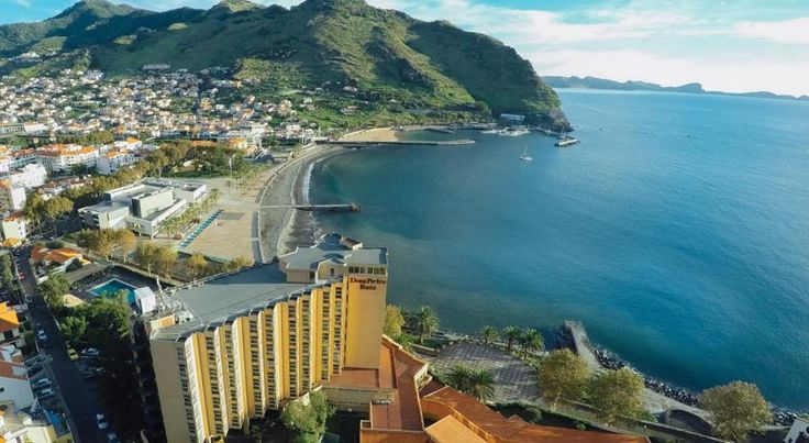 Dom Pedro Baia Club Machico Situated on the island of Madeira, the Dom Pedro Baia Club is located on the beach of Machico Bay. It has a spacious seawater pool and offers rooms with satellite TV and free Wi-Fi is available in public areas.
