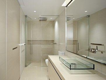 Nob Hill Condominium - contemporary - Bathroom - San Francisco - Matarozzi Pelsinger Builders - towel bars and niche