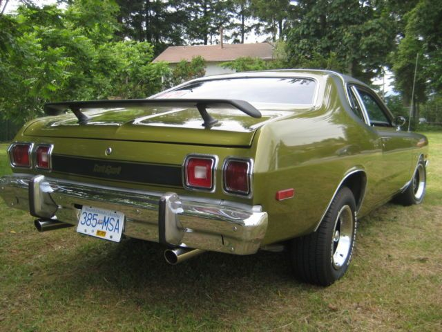 1974 Dodge Dart Sport 360 Sunroof 4spd Mopar Plymouth Chrysler