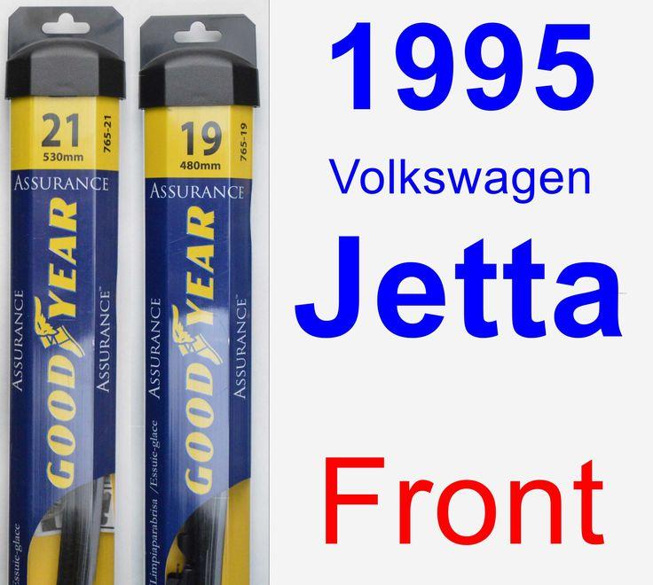Front Wiper Blade Pack for 1995 Volkswagen Jetta - Assurance