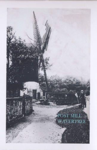 POSTCARD. WAVERTREE, LIVERPOOL. POST MILL 1892 | eBay