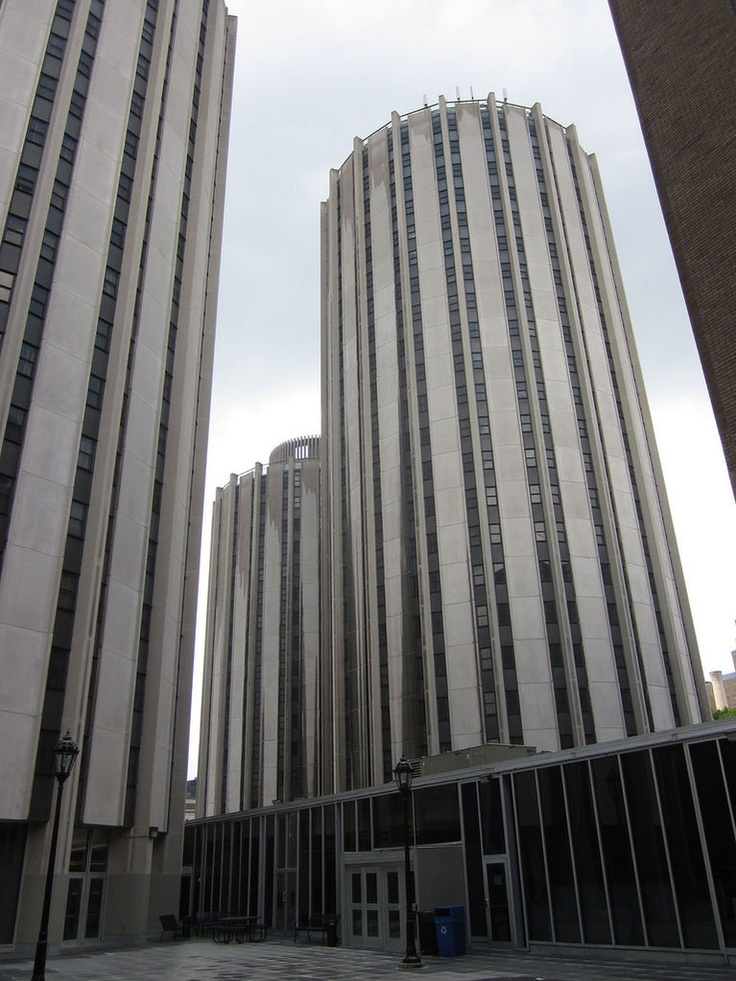Litchfield Towers, University of Pittsburgh, Pittsburgh, Pennsylvania