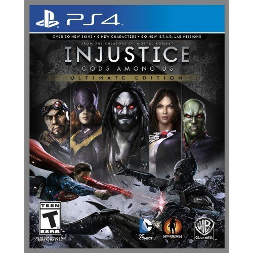 PS4 - Injustice Ultimate Edition