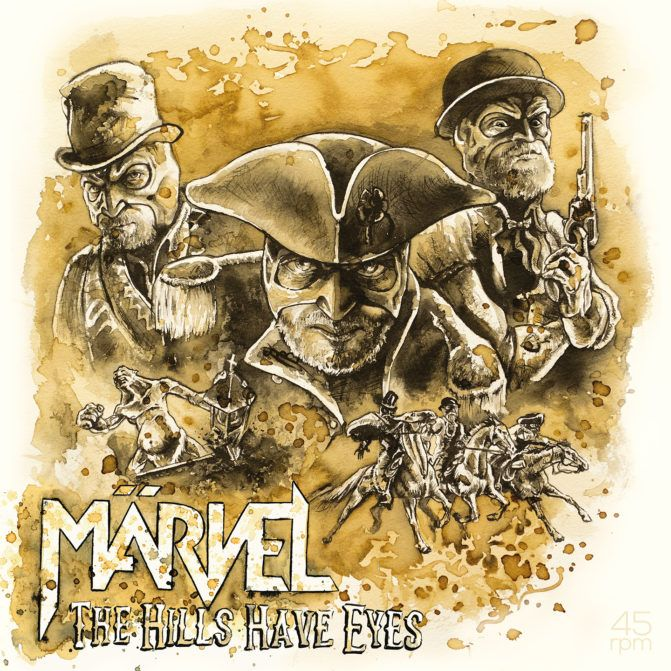 MÄRVEL 'The Hills Have Eyes' Review, Stream & Official Videos