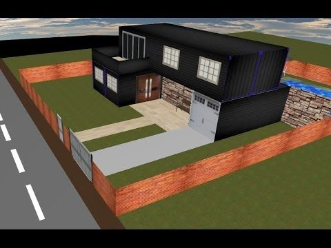 Shipping Container Home Floor Plans, Containers Homes Design, How To Build A Container House - YouTube
