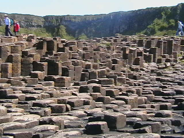 The Giants Causeway, Co Antrim Northern Ireland in 2007.