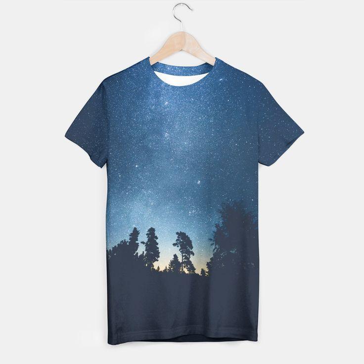 Follow the stars T-shirt, by HappyMelvin at Live Heroes. #apparel #streetwear #urban #stars #tshirt