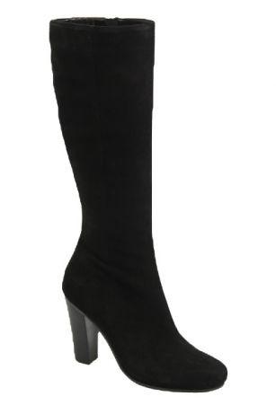 Модные осенние сапоги на каблуке 10 см MD 2324-205 чзс бай