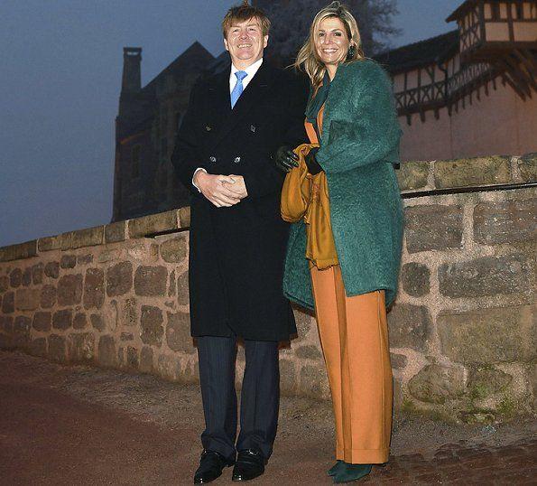 koning willem Alexander en koningin maxima  wartburg duitsland 7-2-2017