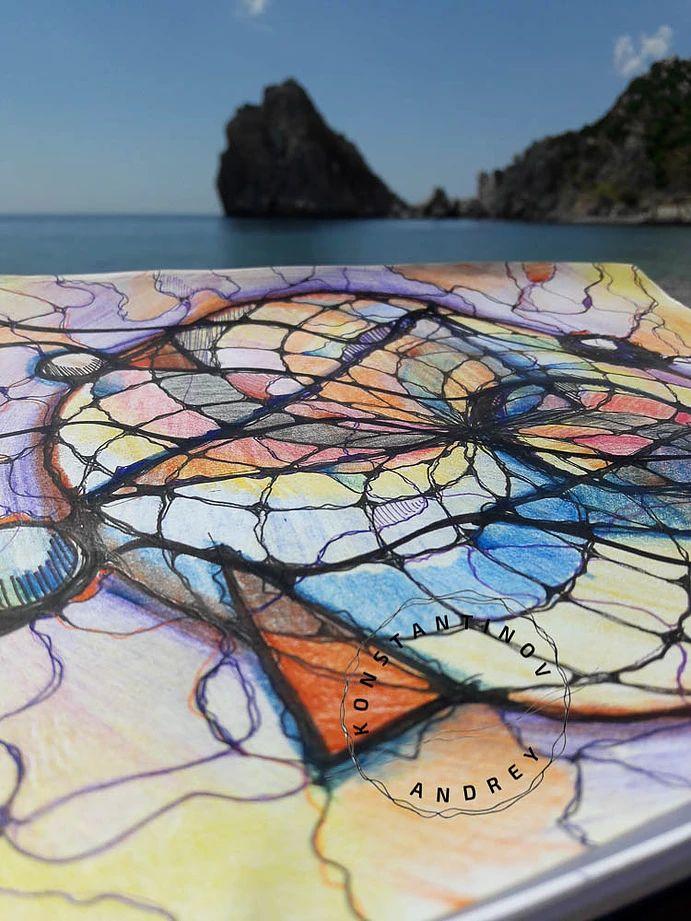 Константинов Андрей. Галерея работ по нейрографике