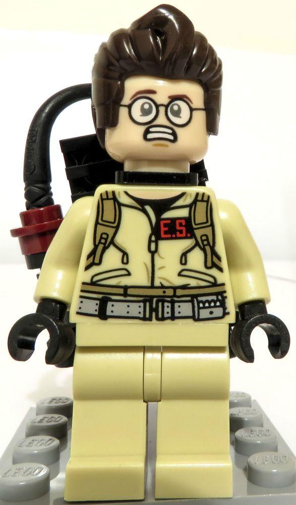 Lego Ghostbusters Egon Spengler Minifigure 21108 Rare Ideas CUUSOO Ghost Busters #LEGO