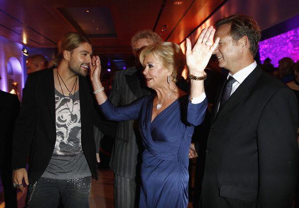 David Garrett beautiful ♥ David Garrett (L-R) David Garrett, Bertelsmann Vice Chairwoman Liz ...