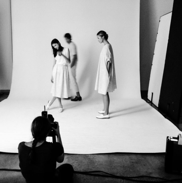 Behind the scenes 'Solid Light' campaign by Kowtow.