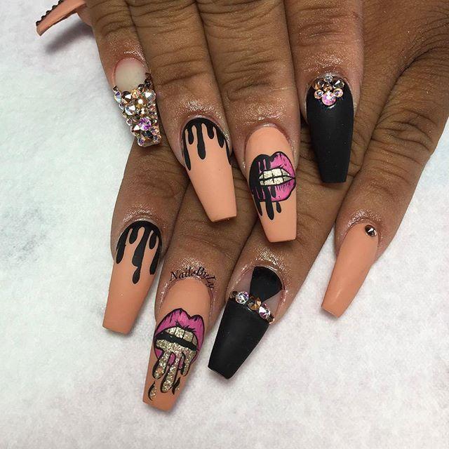 Carson California Nail Artist @nailsbyly #nailswag #nailaddict #nailsoftheday…