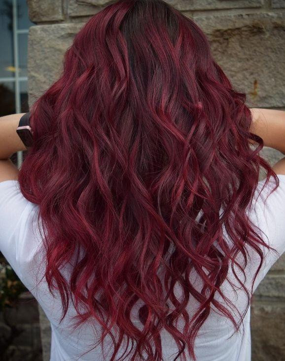 Kis Icin Sarap Kizili Sac Renkleri 2019 Hair Hairstyle