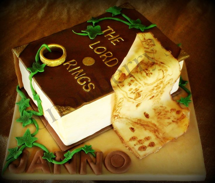 34 Best Lord Of The Rings Cake Images On Pinterest